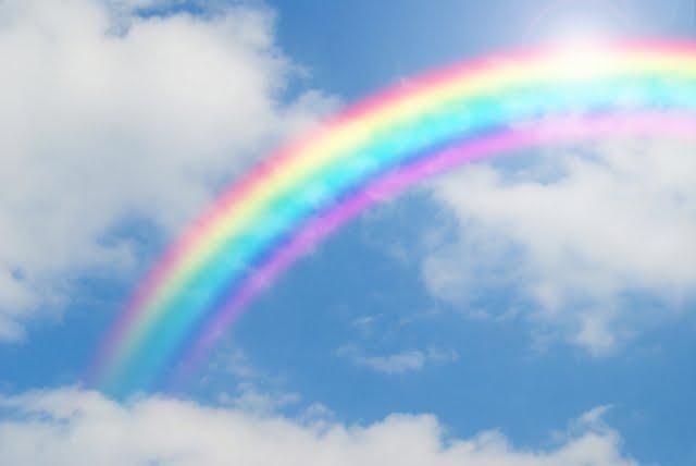 二十四節気 清明 虹