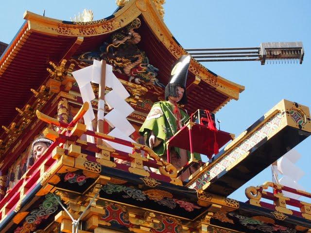 二十四節気 清明 高山祭