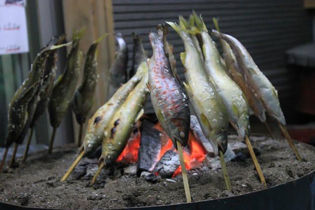 二十四節気 芒種 アユの塩焼き