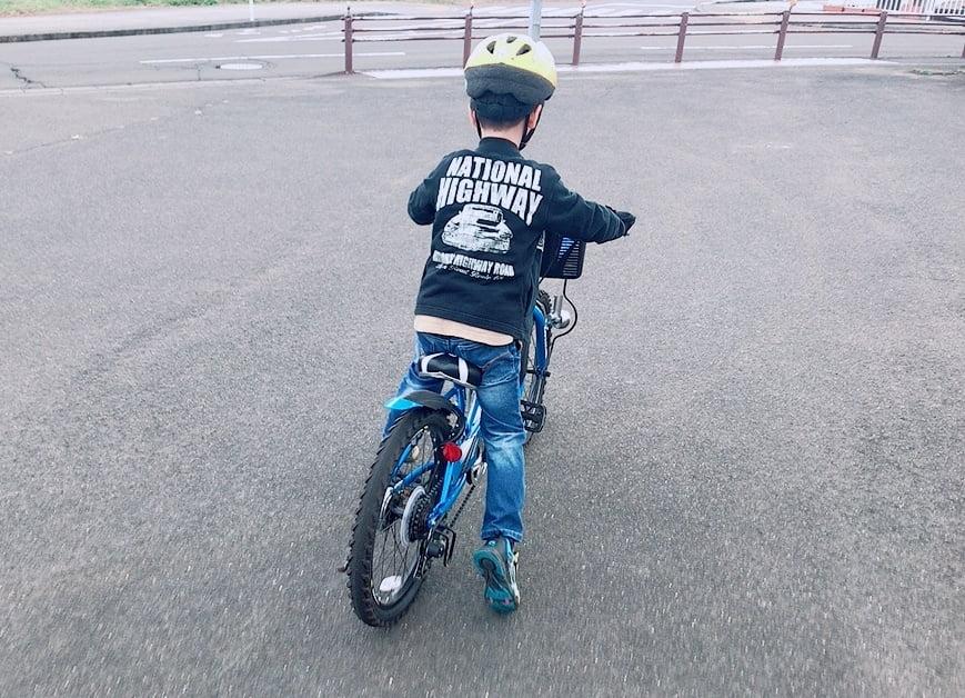 5歳児自転車