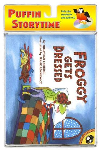 Amazon.co.jp: Froggy Gets Dressed (Froggy)(With CD): Jonathan London: 洋書 (19186)