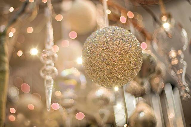 Christmas Ornament Sparkly Gold · Free photo on Pixabay (130458)