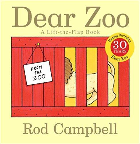 Amazon | Dear Zoo (Dear Zoo & Friends) | Rod Campbell | Activity Books (147187)