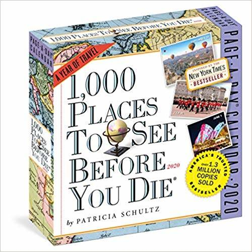 Amazon | 1000 Places to See Before You Die 2020 Calendar | Patricia Schultz, Workman Publishing | Reference & Tips (148910)