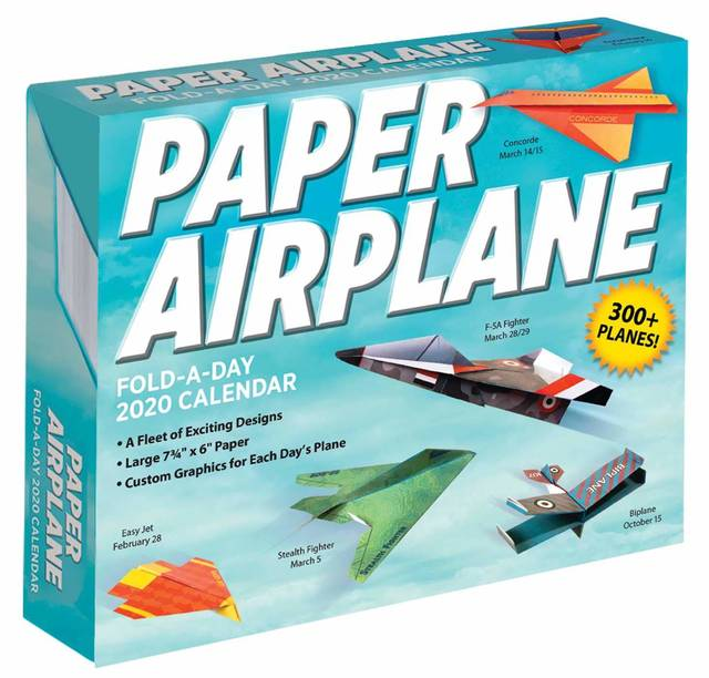 Amazon | Paper Airplane Fold-a-Day 2020 Calendar | Kyong Lee, David Mitchell | Papercrafts (148912)