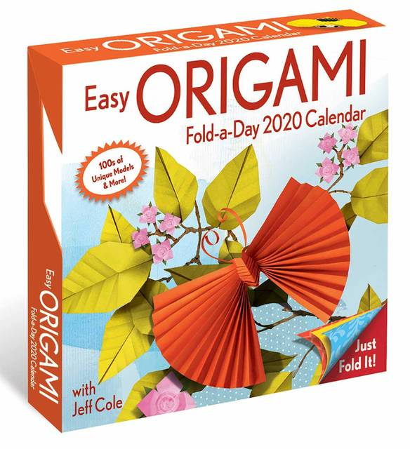 Amazon | Easy Origami 2020 Fold-a-Day Calendar | Jeff Cole | Origami (148914)
