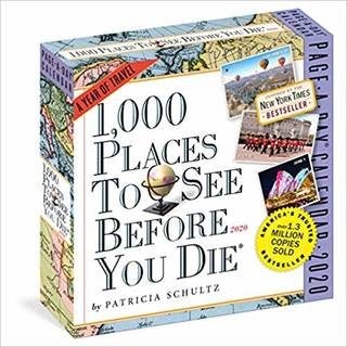 Amazon | 1000 Places to See Before You Die 2020 Calendar | Patricia Schultz, Workman Publishing | Reference & Tips (148911)