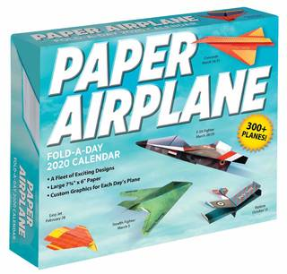 Amazon | Paper Airplane Fold-a-Day 2020 Calendar | Kyong Lee, David Mitchell | Papercrafts (148913)